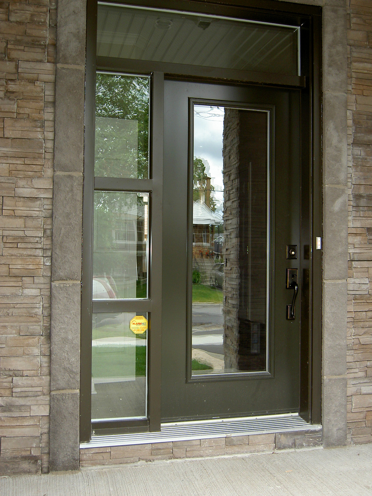 Doors Exterior Glass : Door installation